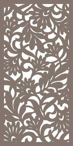 Decorative Screen Pattern Dxf Vector Design 10 DXF File