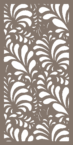 Decorative Screen Pattern Plasma Cutting Dxf Vector File Design 02 DXF File