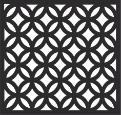 Decorative Wall Panel Free CDR Vectors File