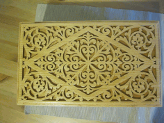 Decorative Wooden Box 6mm Template Laser Cut CDR File