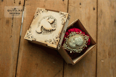 Decorative Wooden Jewelry Box Free CDR File