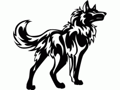 Dog 1100×950 Free DXF Vectors File