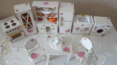 Doll Furniture CNC Laser Cutting Free CDR File