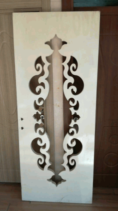 Door Design CNC Laser Cut DXF File