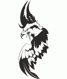 Eagle Sticker Free Download CDR File