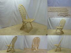 Flexible Wooden Chair File Free CDR File