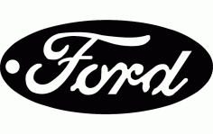 Ford Key Tag DXF File