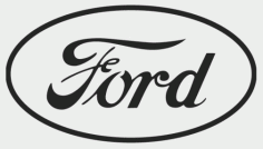 Ford Logo Free Vector DXF File