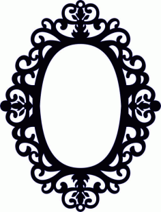 Frames for Mirrors Free DXF Vectors File
