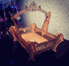 Fruit Basket Laser Cut CDR File