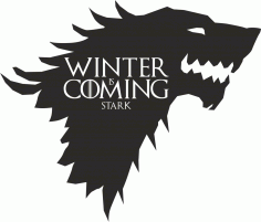 Game Of Thrones Stark Vector free CDR Vectors File