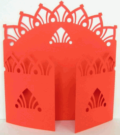 Gate Fold Card 11 Download Free DXF File