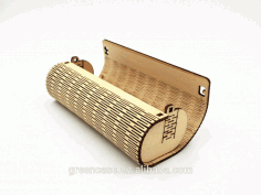 Glasses Case CNC Laser Cutting Free CDR File