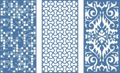 Grille Screen Pattern Design CDR File