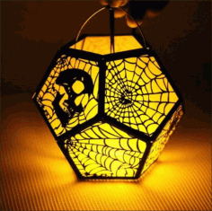 Halloween 3D Lamp CDR File