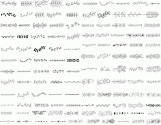 Handdrawn Elements Free CDR Vectors File