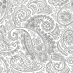 Handdrawn Ornament Pattern Free CDR Vectors File