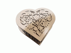 Heart Shaped Gift Box Free Vector CDR File