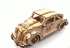 Herbie 3mm Free DXF Vectors File