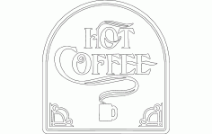 Hot Coffee Free Download Vectors CDR File