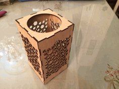 Islamic Candle Lamp Lantern Laser Cut DXF File