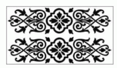 Jali Design Modern Pattern Design and Room Divider DXF File