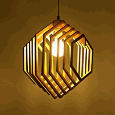 Lamp Eva Laser Cut CDR File