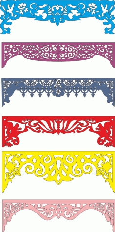 Laser Cut Arch Designs and Patterns Free CDR Vectors File