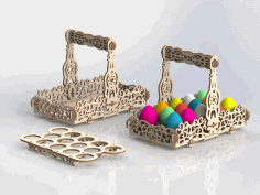Laser Cut Basket Ideas DXF File
