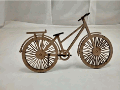 Laser Cut Bicycle Free CDR Vectors File