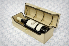 Laser Cut Bottle Box for Alcohol CDR File
