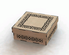 Laser Cut Box Pattern Free Free DXF Vectors File