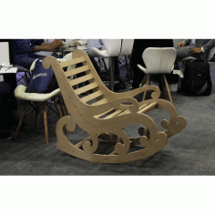 Laser Cut Chair Template DXF File