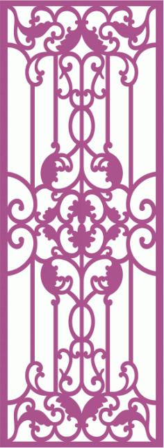 Laser Cut Grille Pattern Free Vector CDR File