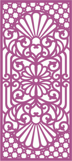 Laser Cut Jali Design Free CDR Vectors File