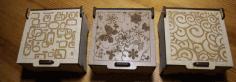 Laser Cut Jewelry Boxes CDR File