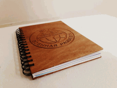 Laser Cut Notebook Template DXF File