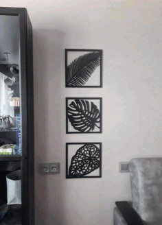 Laser Cut Panels For Interior Decoration Wall Decor Ideas DXF File