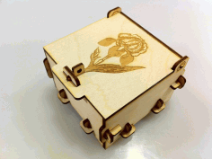 Laser Cut Pinned Box Free Free DXF Vectors File