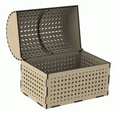 Laser Cut Storage Box Free CDR File