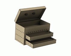 Laser Cut Tool Box Free DXF Vectors File