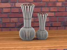 Laser Cut Vase Vectors File CDR File