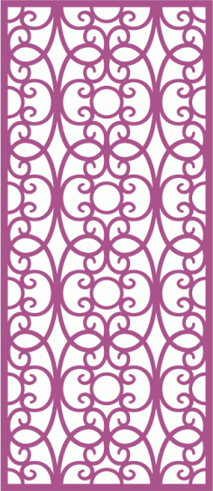 Laser Cut Vector Panel Seamless 174 Free CDR Vectors File