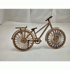 Laser Cut Wooden Bicycle DXF File