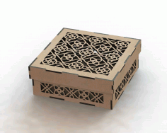 Laser Cut Wooden Box Template Free Free DXF Vectors File