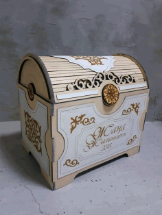 Laser Cut Wooden Storage Box Free CDR File
