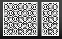 Lasercut Files Pattern Arabesque 6 Free DXF Vectors File