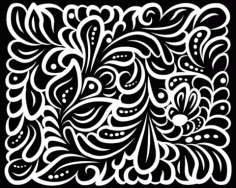 Lasercut Files Pattern Arabesque 8 Free DXF Vectors File