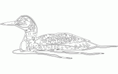 Loon Free Dxf File For Cnc DXF Vectors File