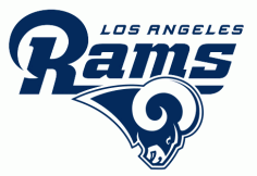 Los Angeles Rams Logo Free Vector DXF File